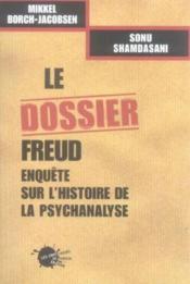 Le Dossier Freud - Couverture - Format classique