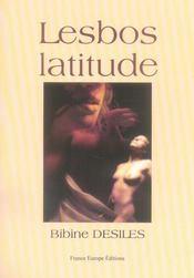Lesbos latitude - Intérieur - Format classique