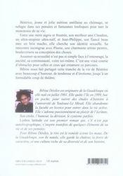 Lesbos latitude - 4ème de couverture - Format classique