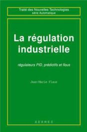 La regulation industrtielle - Couverture - Format classique