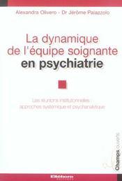 Dynamique Equipe Soignante Psychiatrie - Intérieur - Format classique