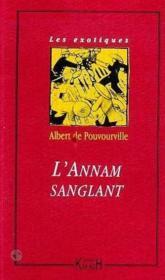L'Annam Sanglant - Couverture - Format classique