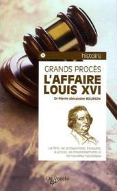 L'affaire Louis XVI - Couverture - Format classique
