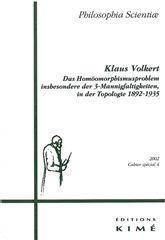 Revue Philosophia Scientiae - Couverture - Format classique