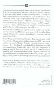 Landru - 4ème de couverture - Format classique