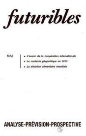 Futuribles N.121 Mai 1988 - Couverture - Format classique