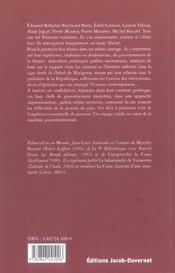 Bail Precaire A Matignon - 4ème de couverture - Format classique