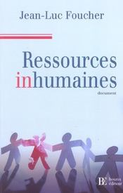 Ressources Inhumaines - Intérieur - Format classique