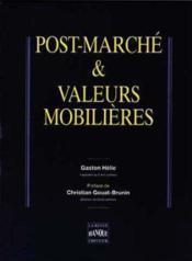 Post Marche Et Valeur Mob - Couverture - Format classique