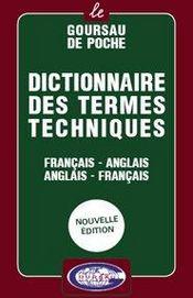 Dictionnaire Des Termes Techniques Francais/Anglais - Anglais/Francais - Intérieur - Format classique