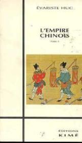 Empire chinois t.2 - Couverture - Format classique