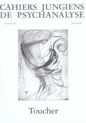 Cahiers Jungiens Toucher - Cahj118 - Intérieur - Format classique