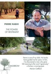 Vente livre :  The power of restraint  - Rabhi Pierre/Davidso - Pierre Rabhi
