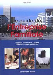 Guide De L'Entreprise Familiale - Intérieur - Format classique