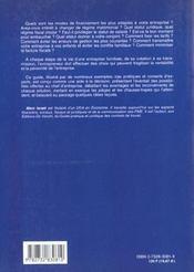 Guide De L'Entreprise Familiale - 4ème de couverture - Format classique