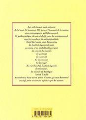 Almanach de la cuisine 2001 - 4ème de couverture - Format classique