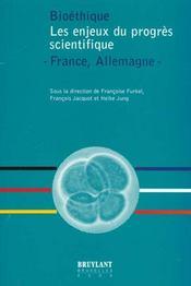 Biotheque Enjeux Du Progres Scientifique - Intérieur - Format classique