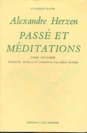 Passe Et Meditations Tome 2 - Couverture - Format classique