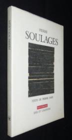 Pierre Soulages - Couverture - Format classique