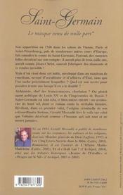 Le Masque Venu De Nulle Part - 4ème de couverture - Format classique