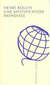 Mystification Mondiale (Une) - Intérieur - Format classique