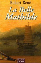 La belle Mathilde - Couverture - Format classique