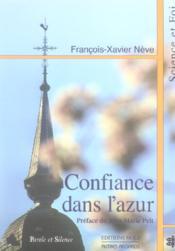 Confiance Dans L'Azur - Couverture - Format classique