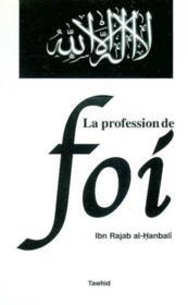 La profession de foi - Couverture - Format classique