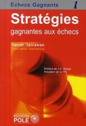 Stratégies gagnantes aux échecs - Couverture - Format classique