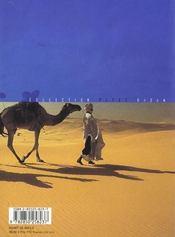 Sahara L'Appel Du Desert - 4ème de couverture - Format classique
