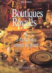 Boutiques Royales - Intérieur - Format classique
