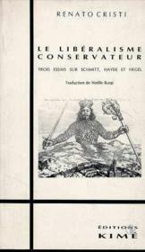 Libéralisme conservateur - Couverture - Format classique