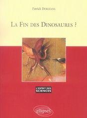 La Fin Des Dinosaures ? No39 - Intérieur - Format classique