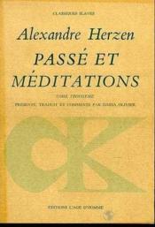 Passe Et Meditations T3 - Couverture - Format classique