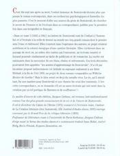 Correspondance t.1 - 4ème de couverture - Format classique