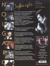 Claude Nougaro ; souffleur de vers - 4ème de couverture - Format classique