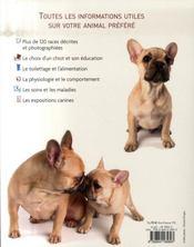 L'encyclopédie du chien - 4ème de couverture - Format classique