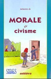 Memento de morale et civisme - Intérieur - Format classique