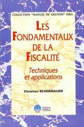 Les Fondamentaux De La Fiscalite/Prix Jusq.30.6.2000 - Intérieur - Format classique