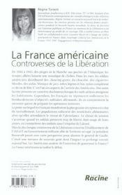 La france americaine ; controverses de la liberation - 4ème de couverture - Format classique