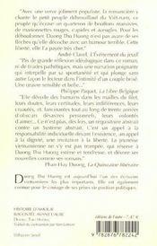 Histoire D'Amour Racontee Avant L'Aube - 4ème de couverture - Format classique