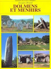 Dolmens Et Menhirs - Intérieur - Format classique