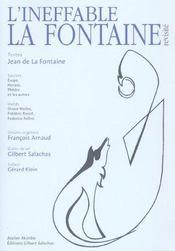 L'Ineffable La Fontaine - Intérieur - Format classique