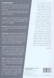 L'Ineffable La Fontaine - 4ème de couverture - Format classique