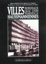 Villes Haussmanniennes - Intérieur - Format classique
