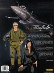 Team rafale t.1 ; présentation alpha - 4ème de couverture - Format classique