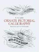 Ornate Pictorial Calligraphy - Couverture - Format classique