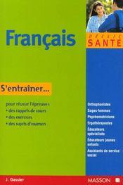 Le Francais Aux Concours Paramedicaux Et Sociaux - Intérieur - Format classique