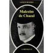 Malcolm De Chazal - Couverture - Format classique