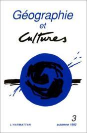 Geographie Et Culture N3 Automne 1992 - Couverture - Format classique